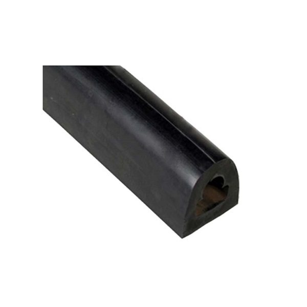 D2 – 10 feet – 1.75 x 2 x 120 Extruded Rubber Dock Bumpers