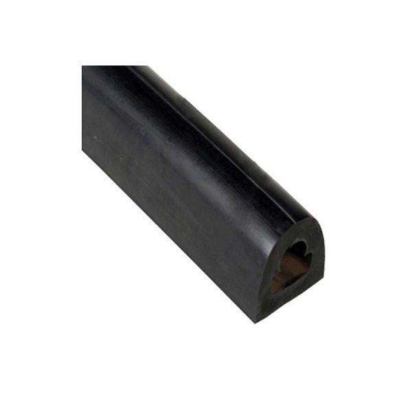 D2 – 8 feet – 1.75 x 2 x 96 Extruded Rubber Dock Bumpers